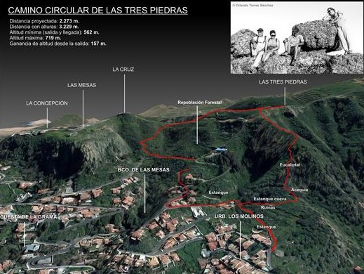 Camino Circular las Tres Piedras-2