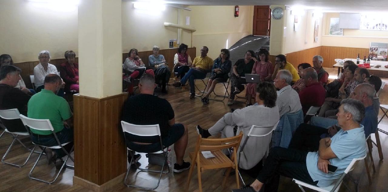 Imagen de archivo de una asamblea de ANDO Sataute