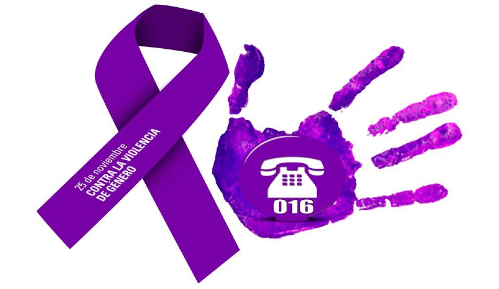 Cartel del Día contra la violencia machista