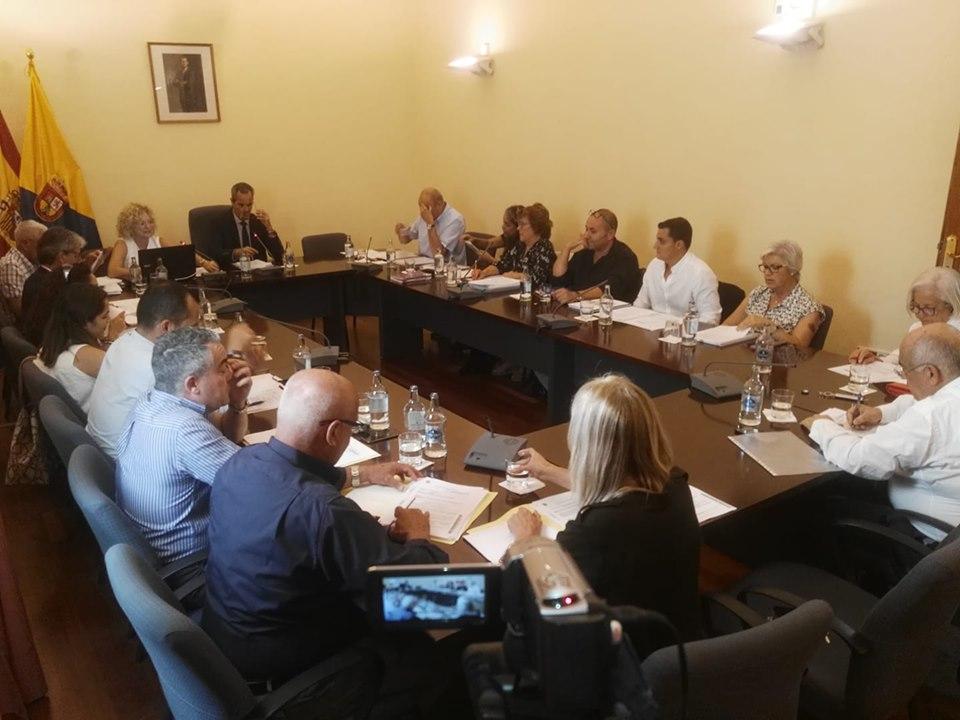 Imagen del inicio del Pleno Ordinario de octubre