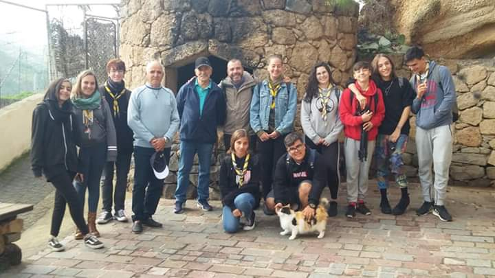 Encuentro de participantes en La Atalaya