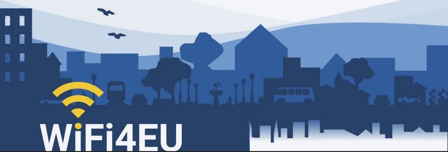 Ilustración del programa Wifi 4 de la Unión Europea